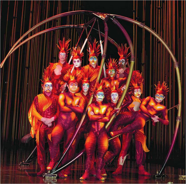 about o on cirque du soleil research papers
