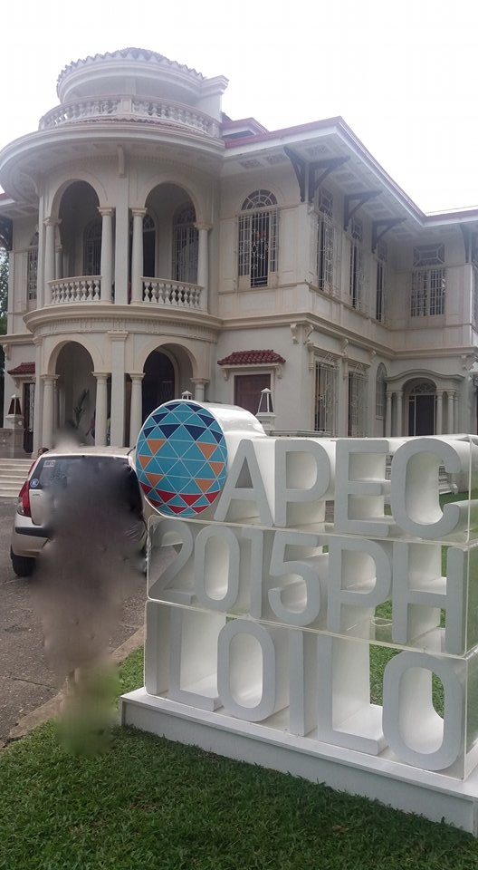 "The Yusay Consing Mansion in Iloilo City is the site of the ""one-stop shop"" for APEC 2015. This is where the DAPHNE-inspired chairs are being displayed and sold."